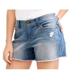 Time & tru midrise shorts size 14